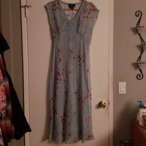 Carol Little mint green floral dress